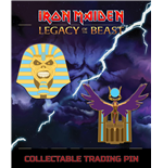 Iron Maiden Legacy of the Beast 2-pack Pin Badge Trooper Pharaoh & Aset