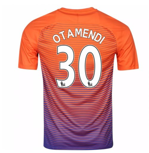 2016-17 Manchester City Third Shirt (Otamendi 30)