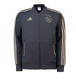 2018-2019 Ajax Adidas Woven Presentation Jacket (Carbon)