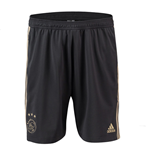 2018-2019 Ajax Adidas Training Shorts (Carbon)