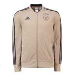 2018-2019 Ajax Adidas Knitted Presentation Jacket (Raw Gold)