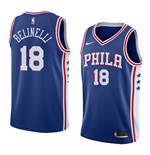 Men's Philadelphia 76ers Marco Belinelli Nike Icon Edition Replica Jersey