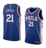 Men's Philadelphia 76ers Joel Embiid Nike Icon Edition Replica Jersey