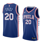 Men's Philadelphia 76ers Markelle Fultz Nike Icon Edition Replica Jersey