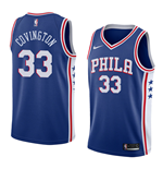 Men's Philadelphia 76ers Robert Covington Nike Icon Edition Replica Jersey