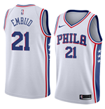Men's Philadelphia 76ers Joel Embiid Nike Association Edition Replica Jersey