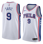Men's Philadelphia 76ers Dario Saric Nike Association Edition Replica Jersey
