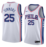 Men's Philadelphia 76ers Ben Simmons Nike Association Edition Replica Jersey