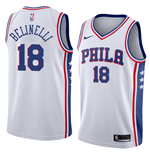 Men's Philadelphia 76ers Marco Belinelli Nike Association Edition Replica Jersey