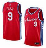 Men's Philadelphia 76ers Dario Saric Nike Statement Edition Replica Jersey