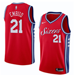 Men's Philadelphia 76ers Joel Embiid Nike Statement Edition Replica Jersey