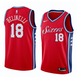 Men's Philadelphia 76ers Marco Belinelli Nike Statement Edition Replica Jersey