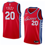 Men's Philadelphia 76ers Markelle Fultz Nike Statement Edition Replica Jersey