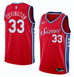 Men's Philadelphia 76ers Robert Covington Nike Statement Edition Replica Jersey