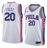 Men's Philadelphia 76ers Markelle Fultz Nike Association Edition Replica Jersey