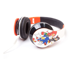 SEGA Sonic the Hedgehog & Friends Folding Headphone, Multi-colour
