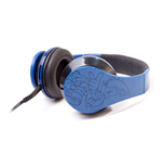 SEGA Sonic the Hedgehog Folding Headphone, Blue/Black