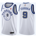 Men's Golden State Warriors Andre Iguodala Nike Hardwood Classic Replica Jersey