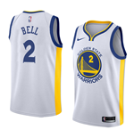 Men's Golden State Warriors Jordan Bell Nike Association Edition Replica Jersey