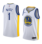 Men's Golden State Warriors Javale McGee Nike Association Edition Replica Jersey
