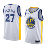 Men's Golden State Warriors Zaza Pachulia Nike Association Edition Replica Jersey