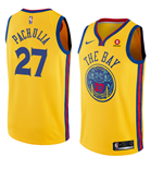 Men's Golden State Warriors Zaza Pachulia Nike City Edition Replica Jersey