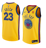 Men's Golden State Warriors Draymond Green Nike City Edition Replica Jersey