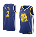 Men's Golden State Warriors Jordan Bell Nike Icon Edition Replica Jersey