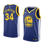 Men's Golden State Warriors Shaun Livingston Nike Icon Edition Replica Jersey