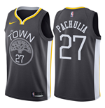 Men's Golden State Warriors Zaza Pachulia Nike Statement Edition Replica Jersey
