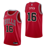 Men's Chicago Bulls Paul Zipser Nike Icon Edition Replica Jersey