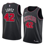 Men's Chicago Bulls Robin Lopez Nike Statement Edition Replica Jersey