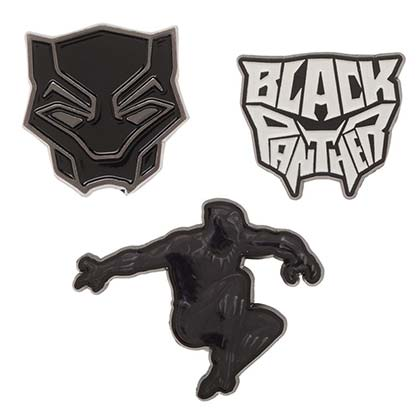 BLACK PANTHER Lapel Pin Set of 3