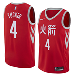 Men's Houston Rockets PJ Tucker Nike City Edition Replica Jersey