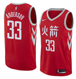 Men's Houston Rockets Ryan Anderson Nike City Edition Replica Jersey