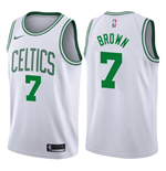 Men's Boston Celtics Jaylen Brown Nike Association Edition Replica Jersey