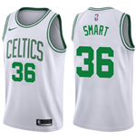 Men's Boston Celtics Marcus Smart Nike Association Edition Replica Jersey