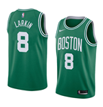 Men's Boston Celtics Shane Larkin Nike Icon Edition Replica Jersey