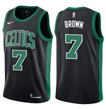 Men's Boston Celtics Jaylen Brown Nike Statement Edition Replica Jersey