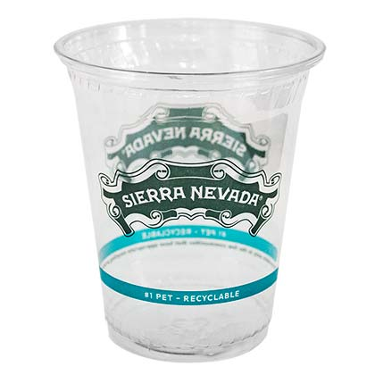SIERRA NEVADA 50 Pack Plastic 14 Ounce Party Beer Cups