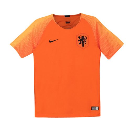 2018-2019 Holland Home Nike Football Shirt (Kids)