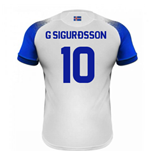 2018-2019 Iceland Away Errea Football Shirt (G Sigurdsson 10)