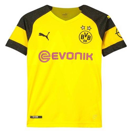 Buy Official 2018 2019 Borussia Dortmund Home Puma Shirt Kids