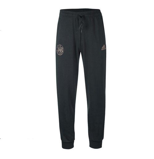 2018-2019 Ajax Adidas Graphic Sweat Pants (Carbon)