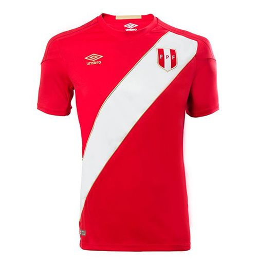 2018-2019 Peru Away Umbro Football Shirt (Kids)