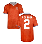 Score Draw Holland World Cup 1994 Home Shirt (F De Boer 2)