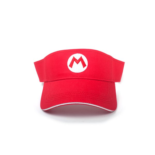 Nintendo - Super Mario Badge Tennis Visor