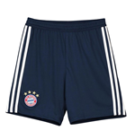 2018-2019 Bayern Munich Adidas Home Shorts (Navy) - Kids