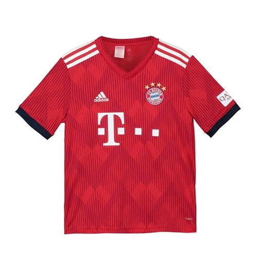 2018-2019 Bayern Munich Adidas Home Shirt (Kids)