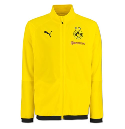 2018-2019 Borussia Dortmund Puma Poly Jacket (Yellow) - Kids